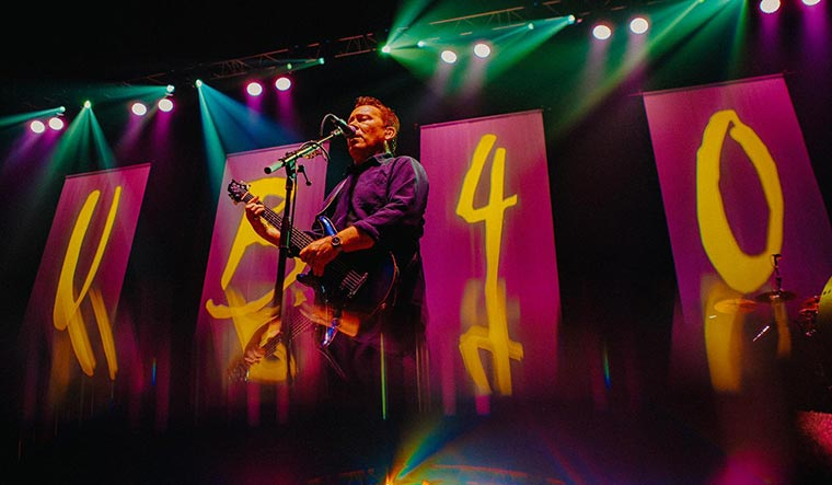 Loud and clear: UB40 guitarist Robin Campbell.