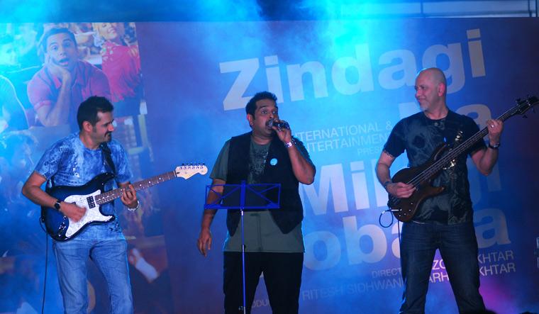 The trio at the album launch of Zindagi Na Milegi Dobara   Getty Images
