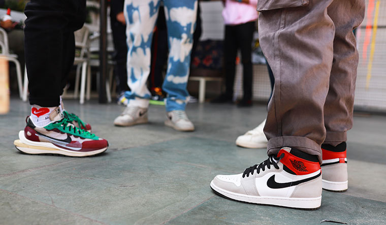 The world of reselling 'hype sneakers' is buzzing like never before