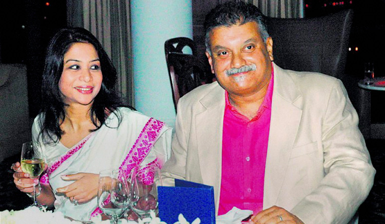 Better times: Indrani and Peter Mukerjea before she was arrested | PTI
