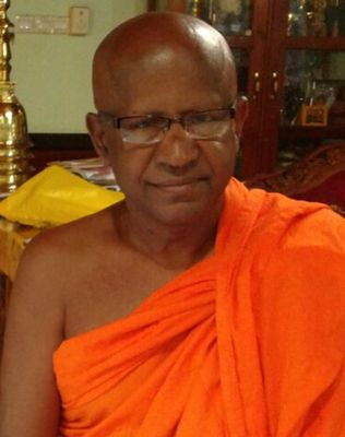 The Venerable Thalpotha Dhamma Jothi Nahimi