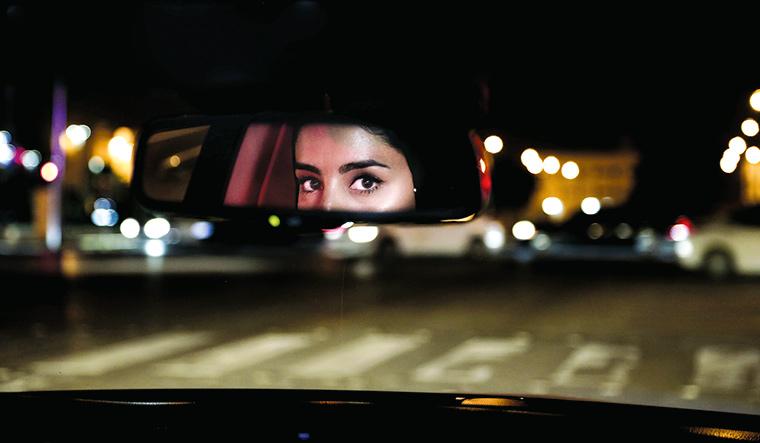 APTOPIX Saudi Women Driving