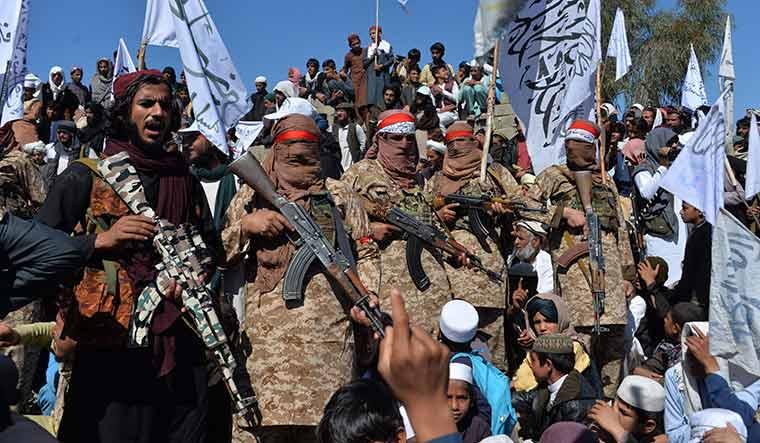 TOPSHOT-AFGHANISTAN-CONFLICT-TALIBAN