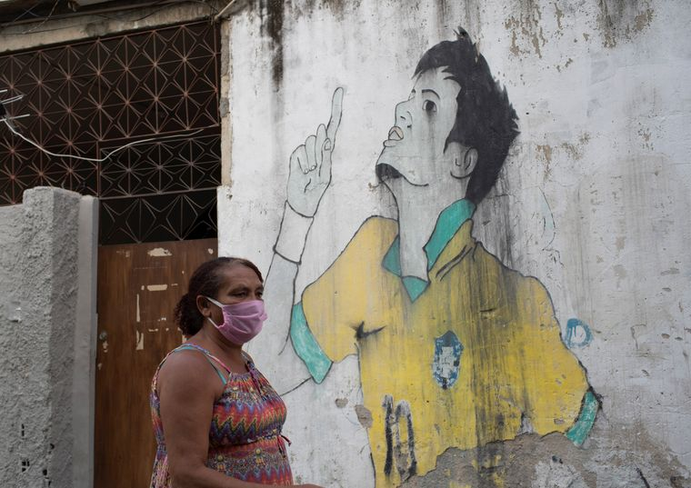 Difficult times: The poor in Brazil has been particularly vulnerable to Covid-19 | AP
