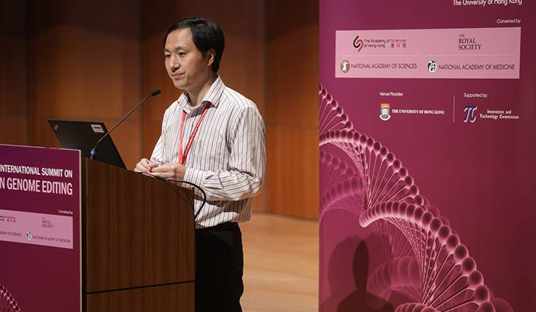 Ethical quandary: In 2018, Chinese geneticist He Jiankui claimed to have altered the genes of two human embryos, prompting outcry from scientists worldwide | Getty Images