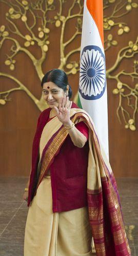 Sushma Swaraj (Feb 14, 1952 - Aug 6, 2019) | Sanjay Ahlawat