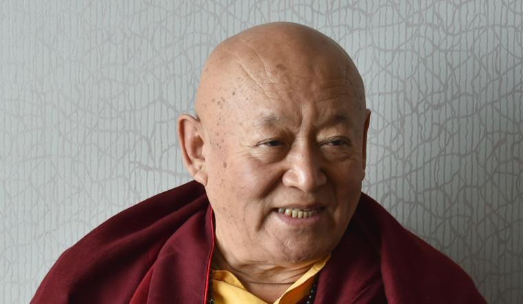Drikung Chetsang Rinpoche | Sanjay Ahlawat