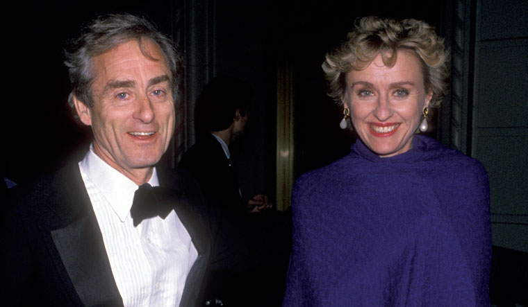 A great partnership: Evans and Tina Brown | Getty Images