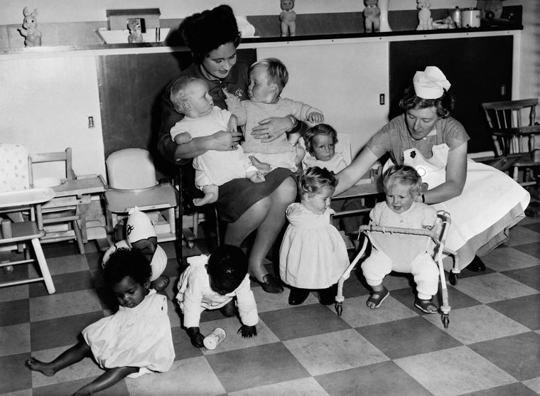 'Children on our conscience': Thalidomide babies at a care home in London | Getty Images