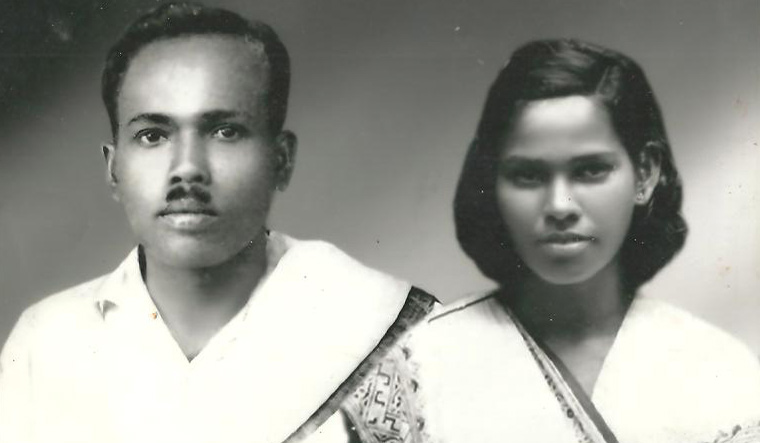 T. Titus and his wife, Annamma.