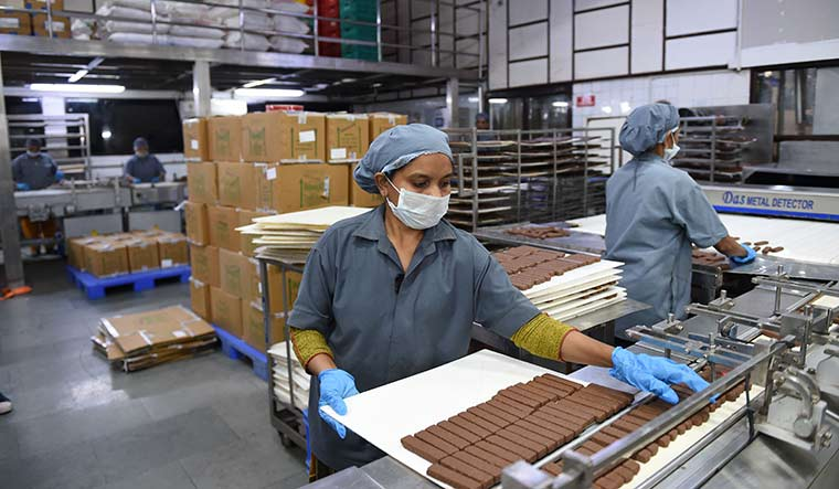 Sweet spot: Amul's chocolate plant at Mogar near Ahmedabad. Amul is the world's second largest cooperative by annual turnover | AFP
