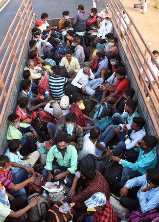 Travel travails: Migrants on their way home from Bengaluru during the lockdown | Bhanu Prakash Chandra