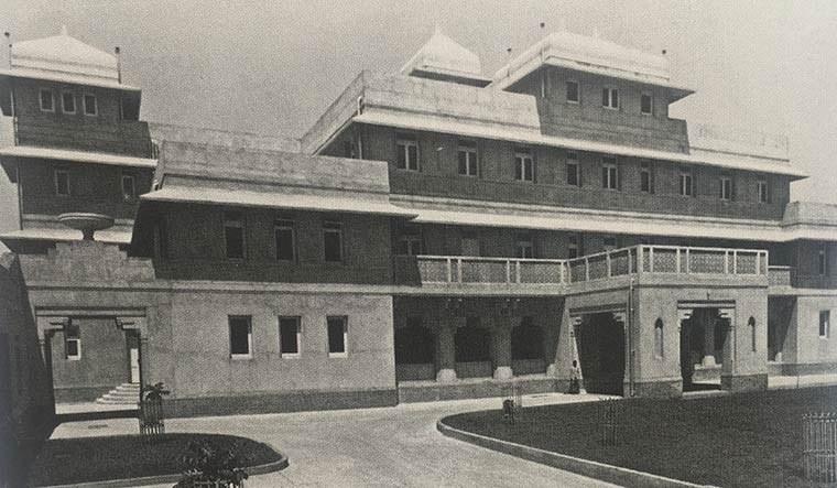 Lost glory: Old photos of Lincoln House.