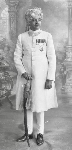 Maharana Amarsinh Jhala, the last ruler of Wankaner.