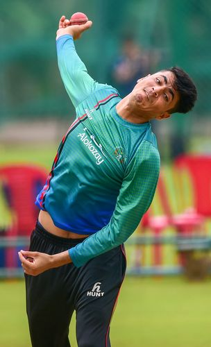 Raring to go: Off-spinner Mujib Ur Rehman, 17, is the youngest member of the Afghan national squad | PTI