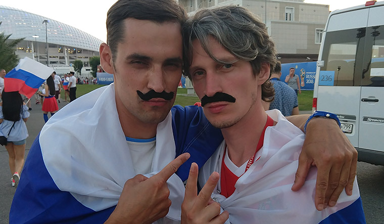 The moustached campaigners