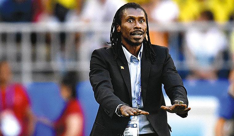 Senegal's Aliou Cisse | AP