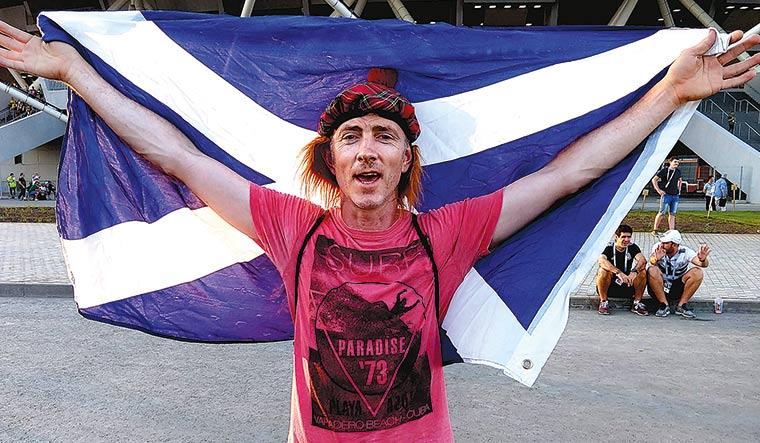 Uruguay's Scottish fan