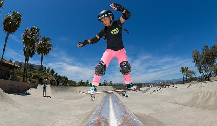 I feel free while skateboarding