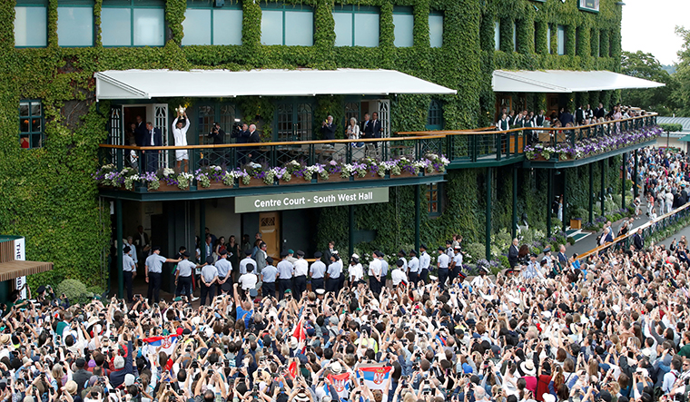 A Manic Monday at Wimbledon