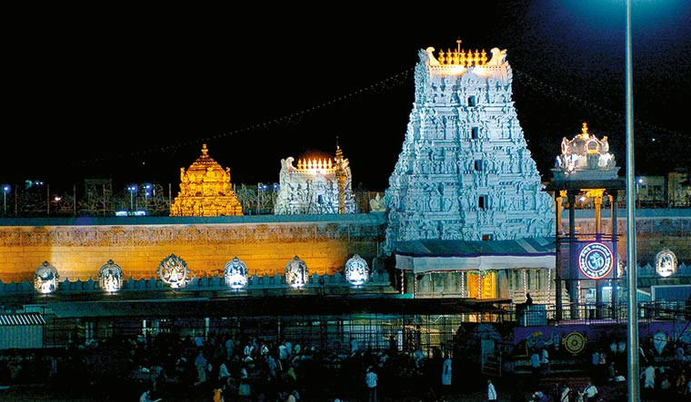 Tirupati temple board undecided on closing down despite priest death,  150-plus cases - The Week