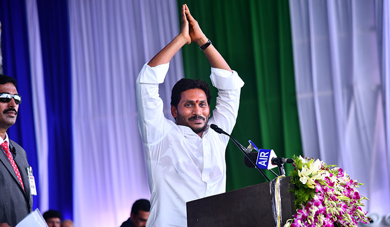The green-keeper: Jagan's decision to go after illegal constructions has pleased environmentalists.