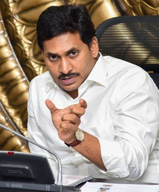 Pointing fingers: Andhra Pradesh Chief Minister Jagan Mohan Reddy accused Justice N.V. Ramana of interfering in the functioning of the High Court | PTI