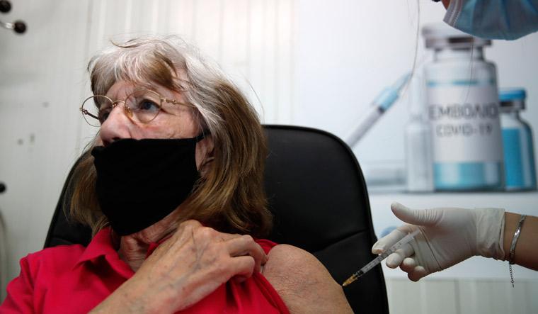 Virus Outbreak Greece Vaccine