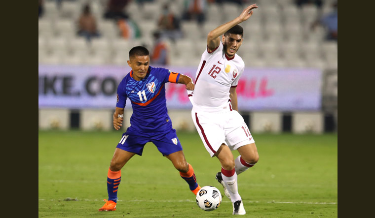 In World Cup Qualifying Round Match 10-Man India Lose 0-1 to Qatar