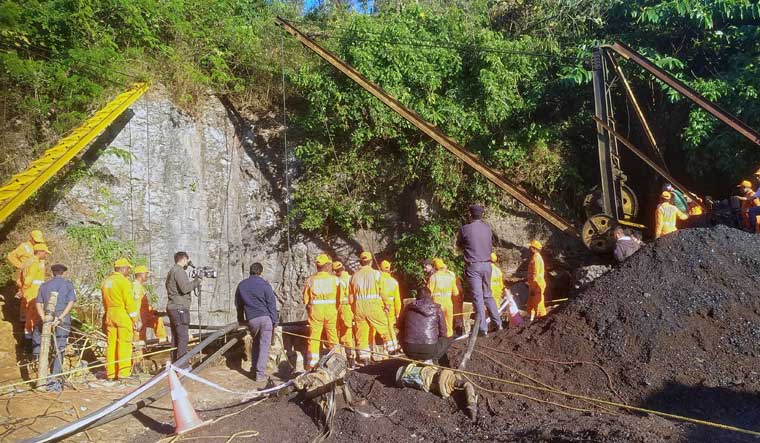 Air Force joins rescue operation to save miners trapped in Meghalya