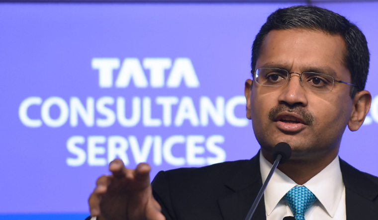 TCS scales record peak on strong earnings, upbeat outlook