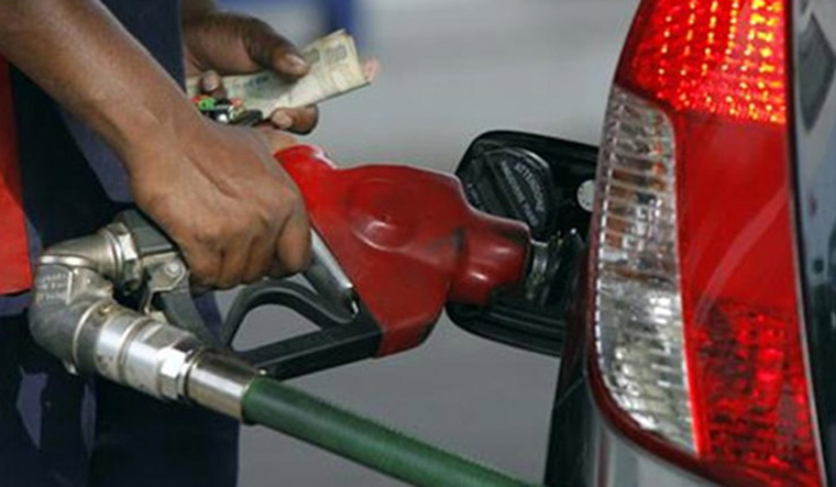 Petrol, diesel prices were slashed after a continuous hike for 16 days