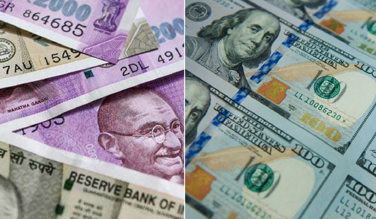 Indian rupee opens lower at 67.17 per dollar