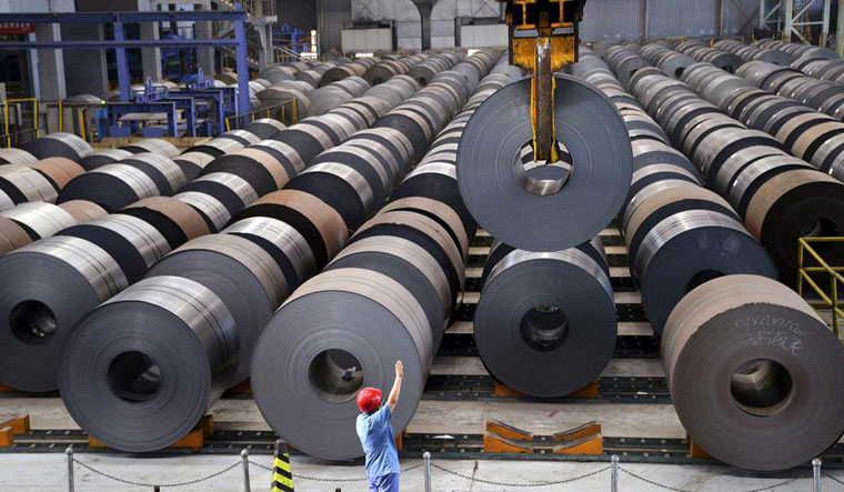 Under Modi government, net imports of steel had gone down and there was an increase of steel exports from the country | Reuters