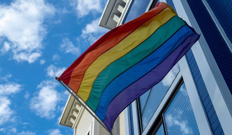 LGBT-flag-office-shutterstock