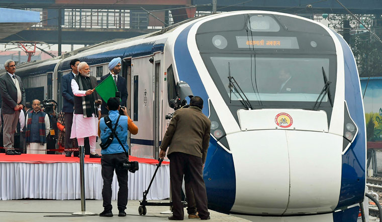 Vande Bharat Express train ride unravels a new Indian