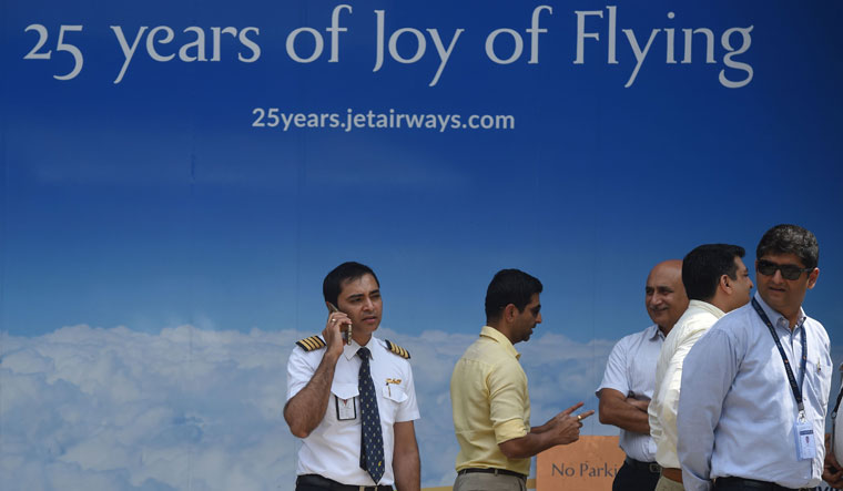 Jet Airways employee HO Mumbai AFP