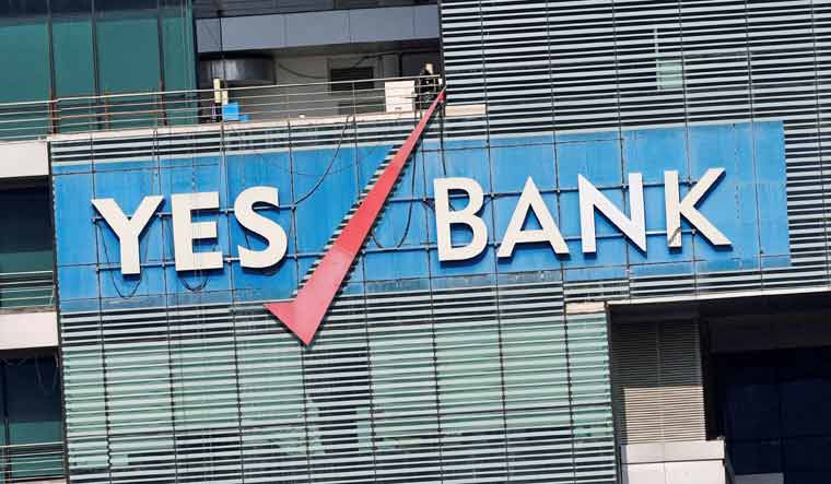 Yes Bank shares sink 30%; m-cap drops by Rs 16,048.56 crore