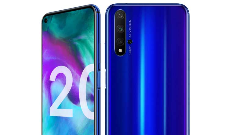 Honor 20, Honor 20 Lite launched; specifications, price