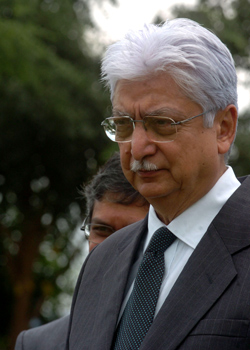 [File] Azim Premji announced his retirement on June 6 | Bhanu Prakash Chandra