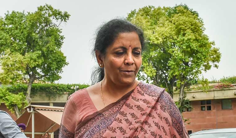 [File] Union Finance Minister Nirmala SItharaman | PTI