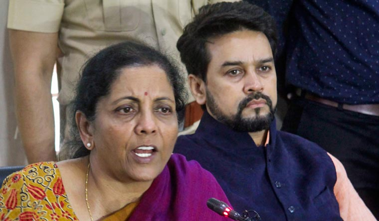 Rahul should consult Cong FMs before accusing govt of stealing RBI money: Sitharaman