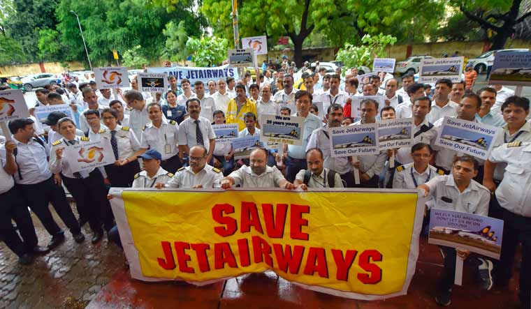 Jet Airways employees seek interim financial relief