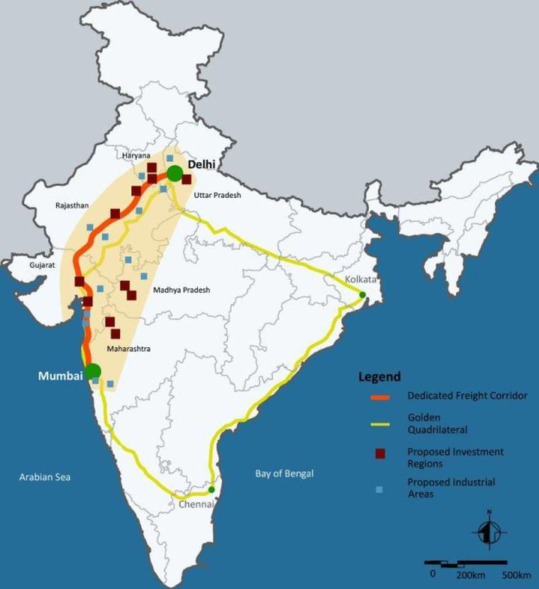 The Delhi Mumbai Industrial Corridor