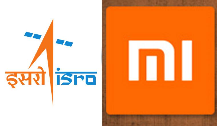 ISRO-Xiaomi-logos