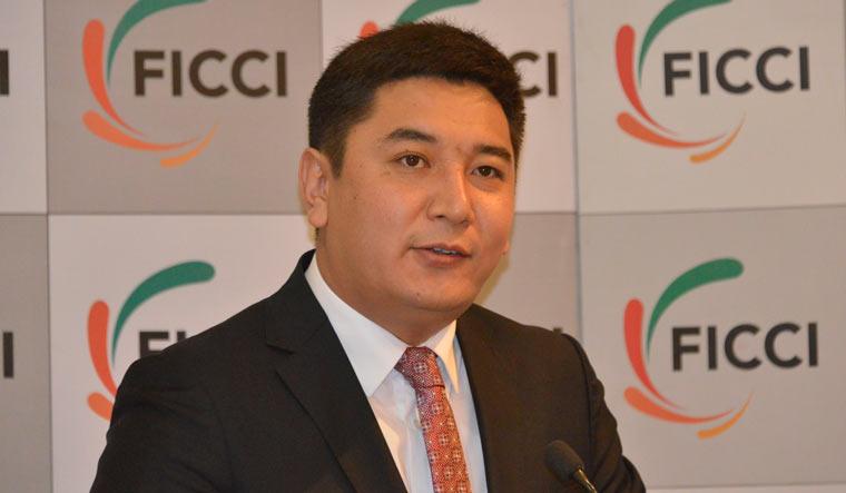 Kyrgyzstan's deputy minister of culture Maksat Damir Uulu   Arvind Jain