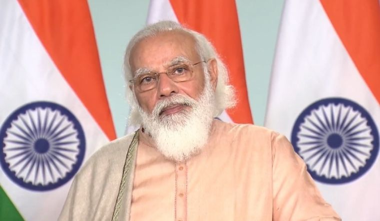 India's Modi says government committed to farmers' welfare