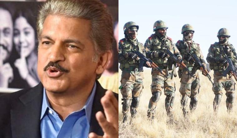 mahindra army