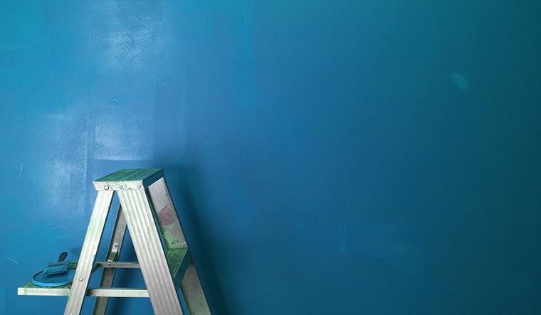 Teacher, principal suspended over 'anti-brahmin' slogan painted on school wall
