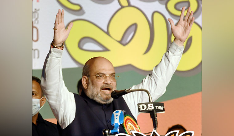 Kerala: BJP leading in Palakkad, Thrissur and Nemom